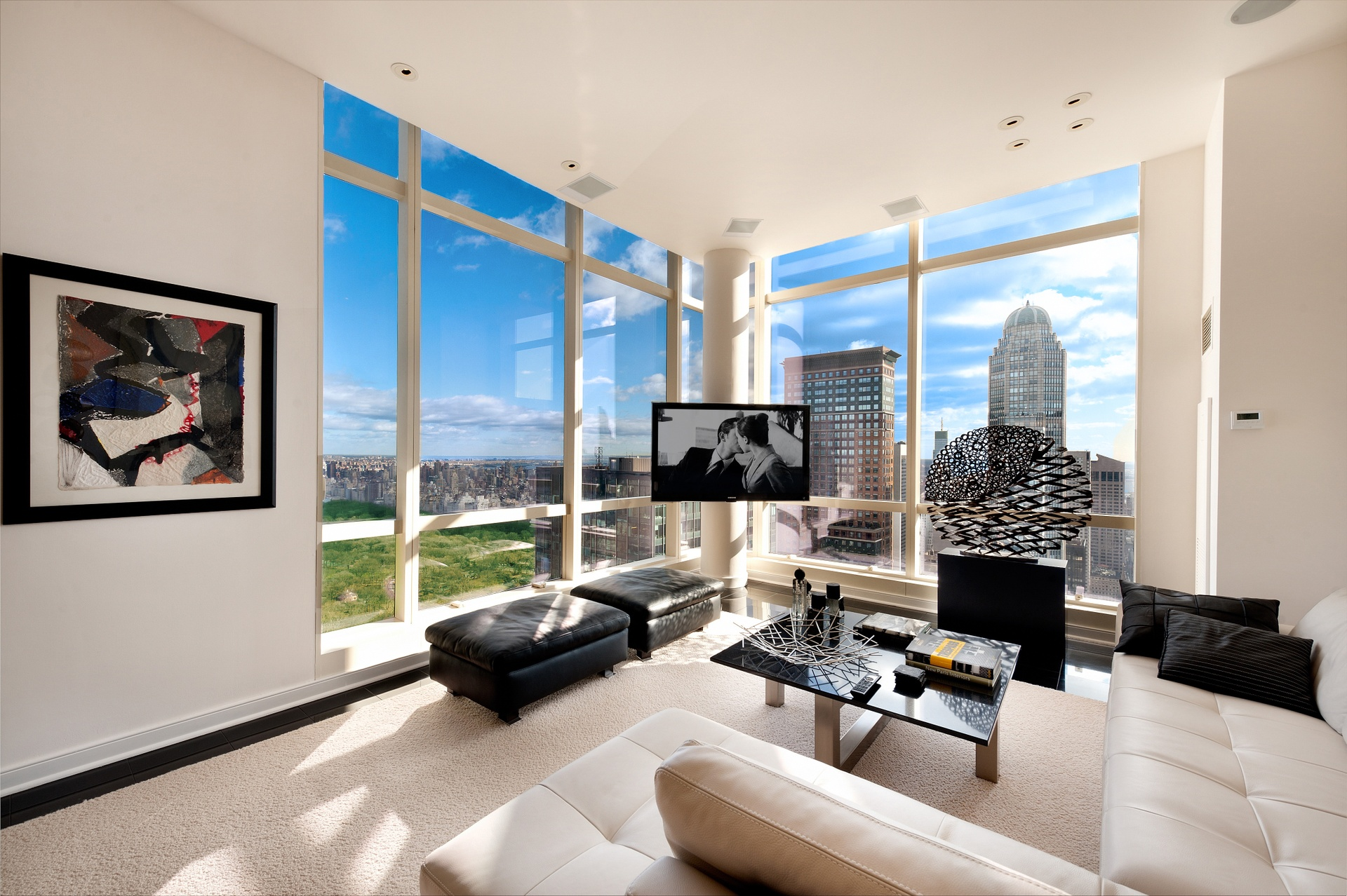 Central park 39 s penthouse a 3 bedroom 3 bathroom on top for Apartment new york for sale