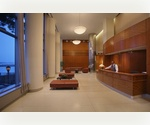 Placid living in a huge, sunny 1 bedroom apt with terrace, fitness center, sundeck, garage, nursery and over a mile long esplanade