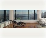 1 Bedroom,1 Bath on the 46th Floor overlooking the East River on the Upper east side. Spectacular Building  with 24 hr Doorman, Gym, and Pool.
